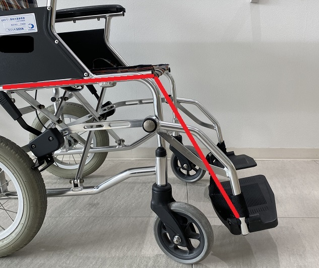 車椅子座面・フットレスト